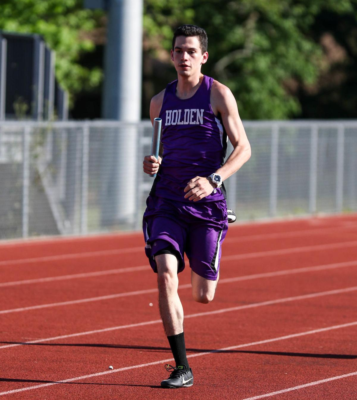 District 7-B track: Kameron Page