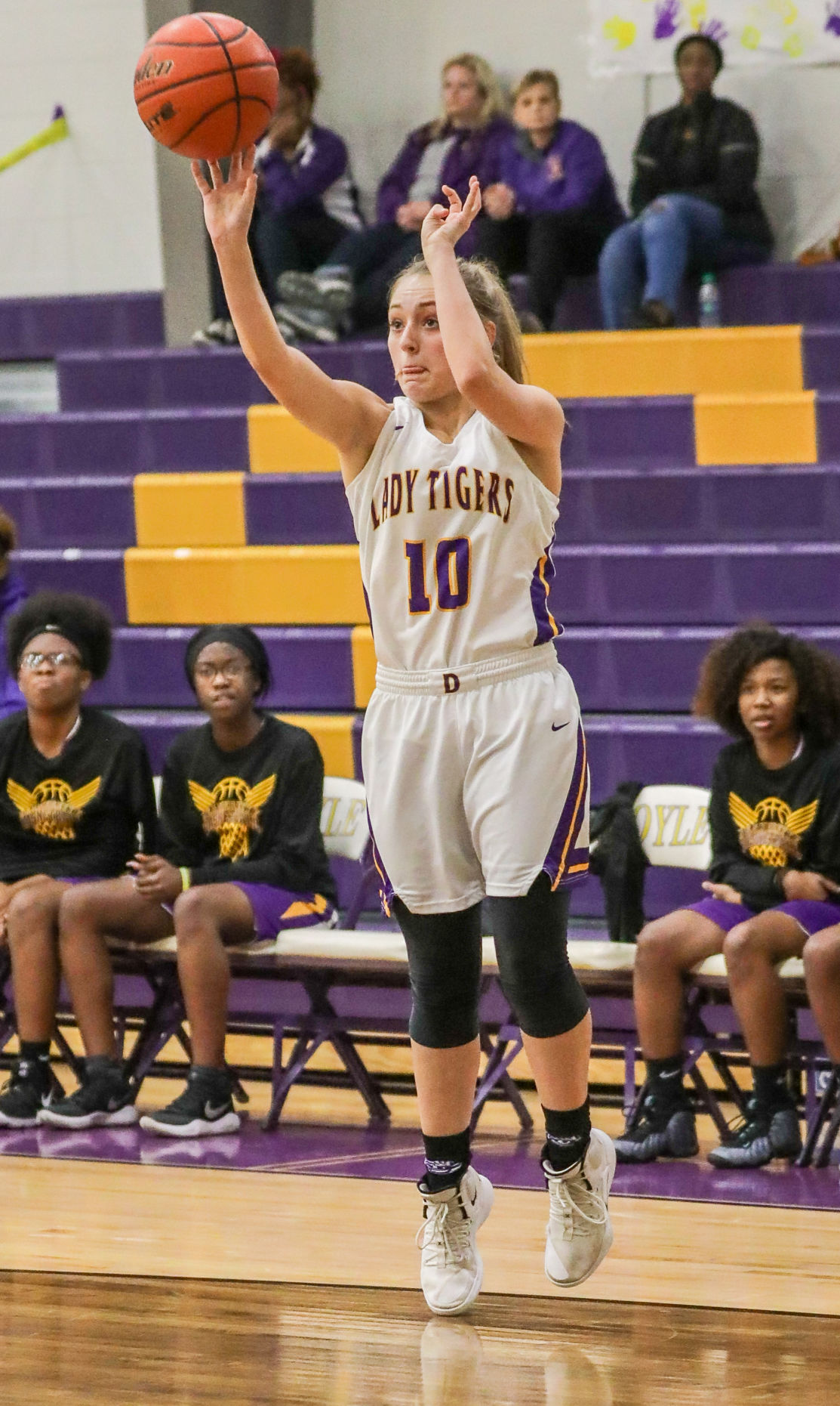Jeanerette at Doyle girls basketball Kourtlyn Lacey