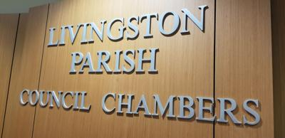 The Livingston Parish Council wall