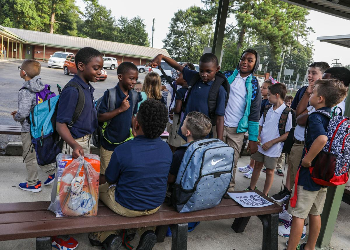 First Day of School at Seventh Ward