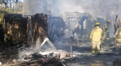 Pine Bluff fire