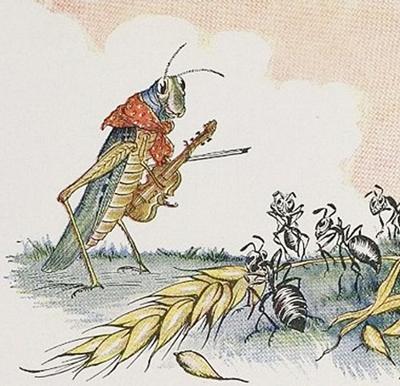 Jeff David Unending Conflict Between Ant And Grasshopper Op Ed