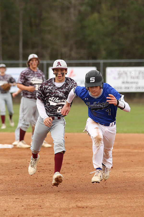 Albany vs Springfield baseball Will Taylor Shane Everhardt