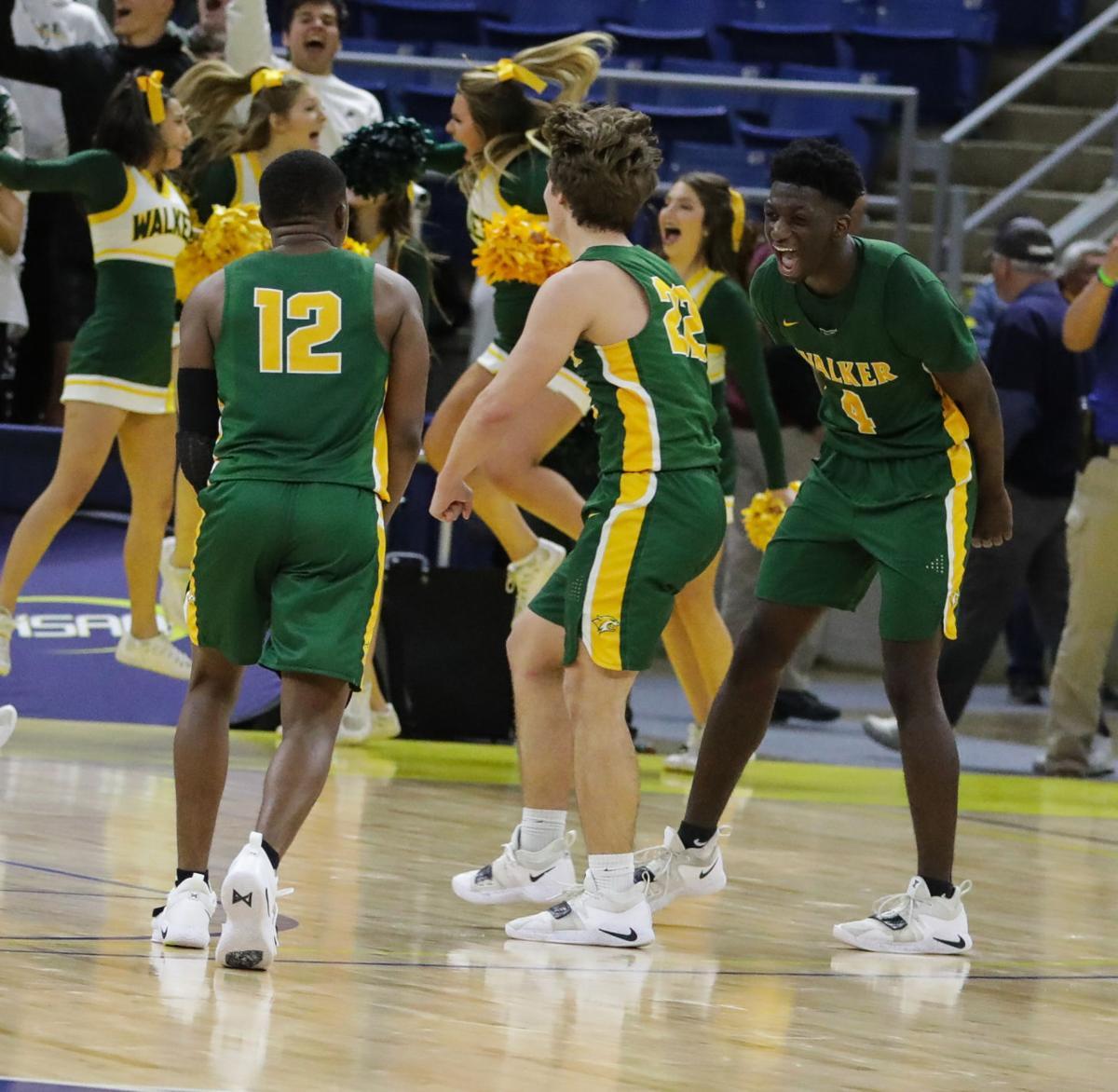 Walker vs. Ouachita Parish boys basketball Brian Thomas Calvin Watson Kevin Brady