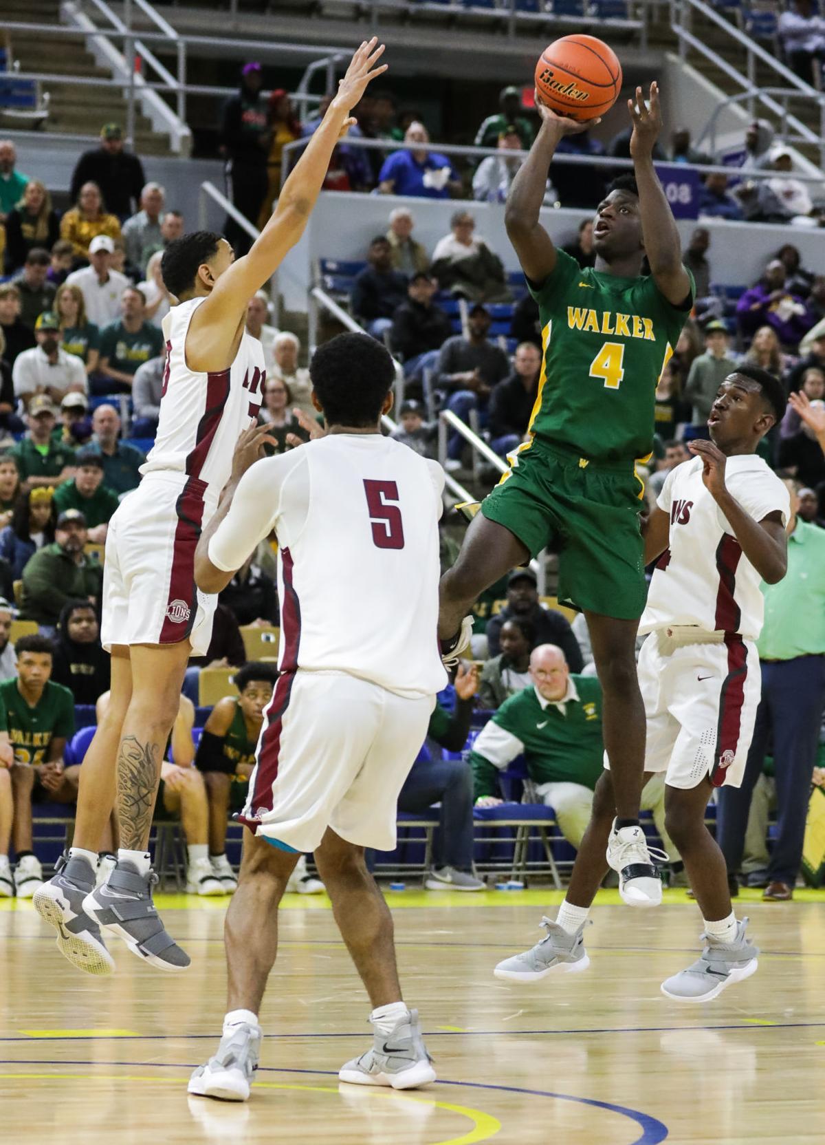 Walker vs. Ouachita Parish boys basketball Brian Thomas