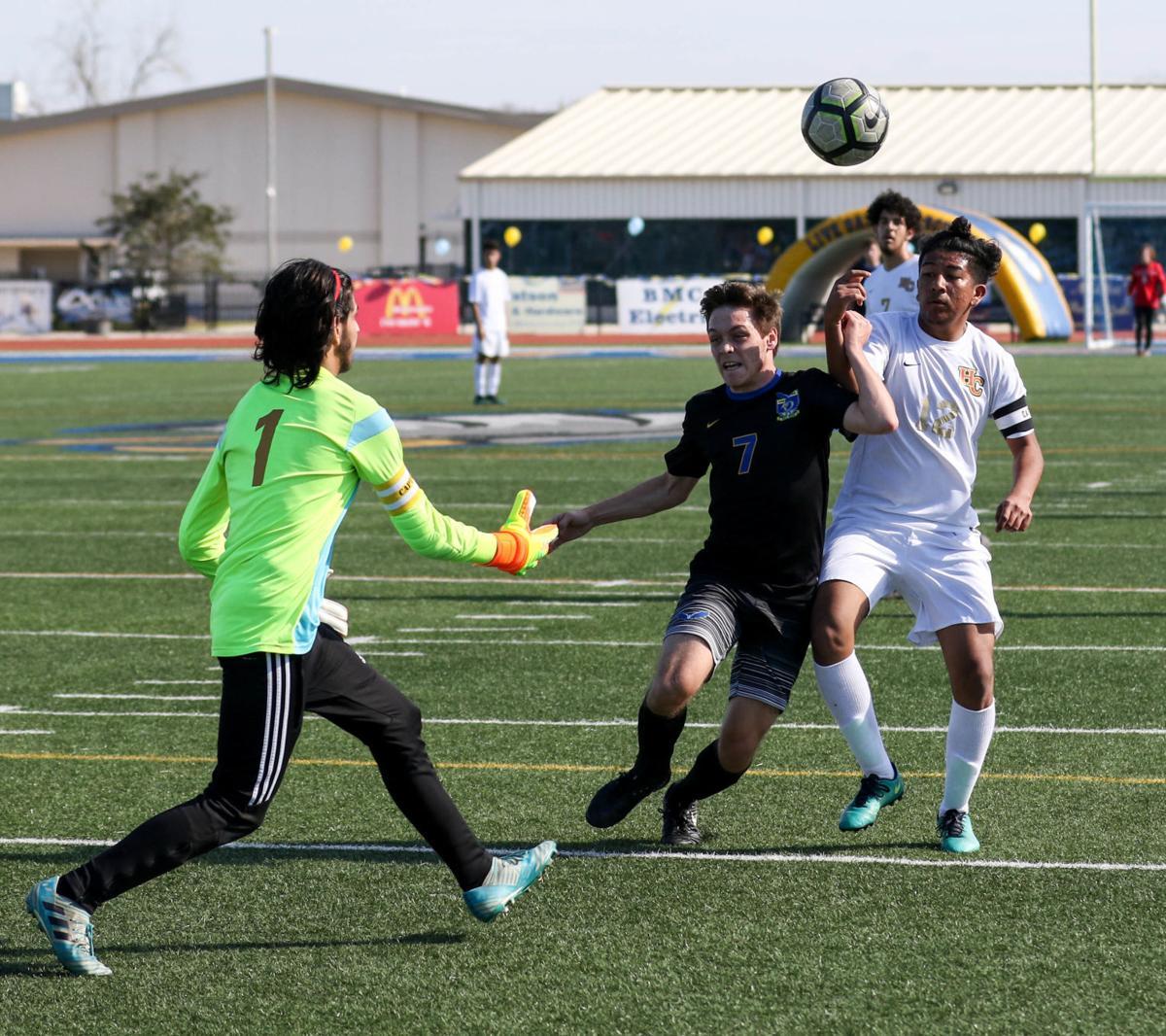 Live Oak boys soccer vs. Helen Cox: Devon Bickham