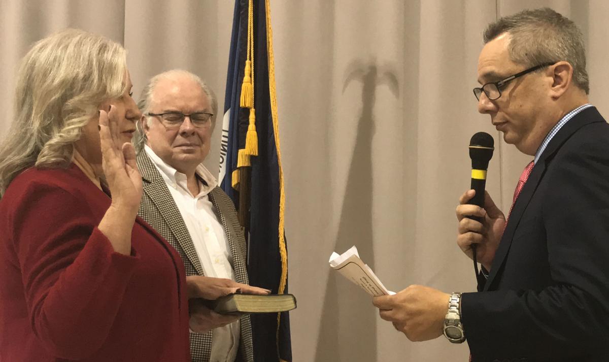 McCarroll Takes Oath