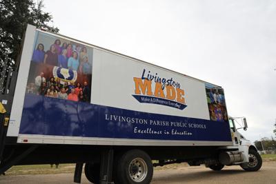 Livingston Parish Public Schools - Livingston MADE logo