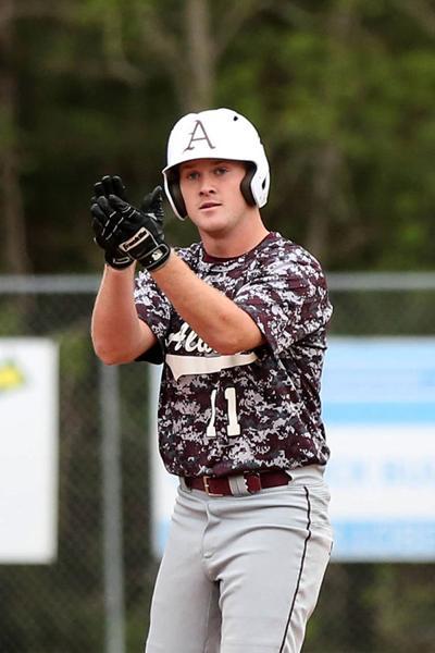 Albany vs Springfield baseball Donovan Giamalva