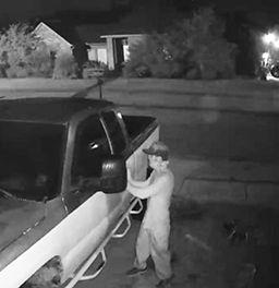burglar at car