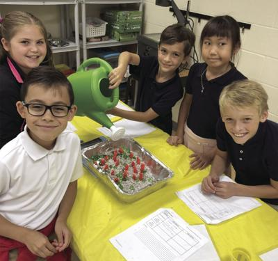 JBE students learn about erosion