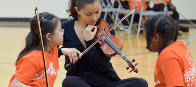 Kids' Orchestra to receive $48,000 grant from United Thank Offering of the Episcopal Church