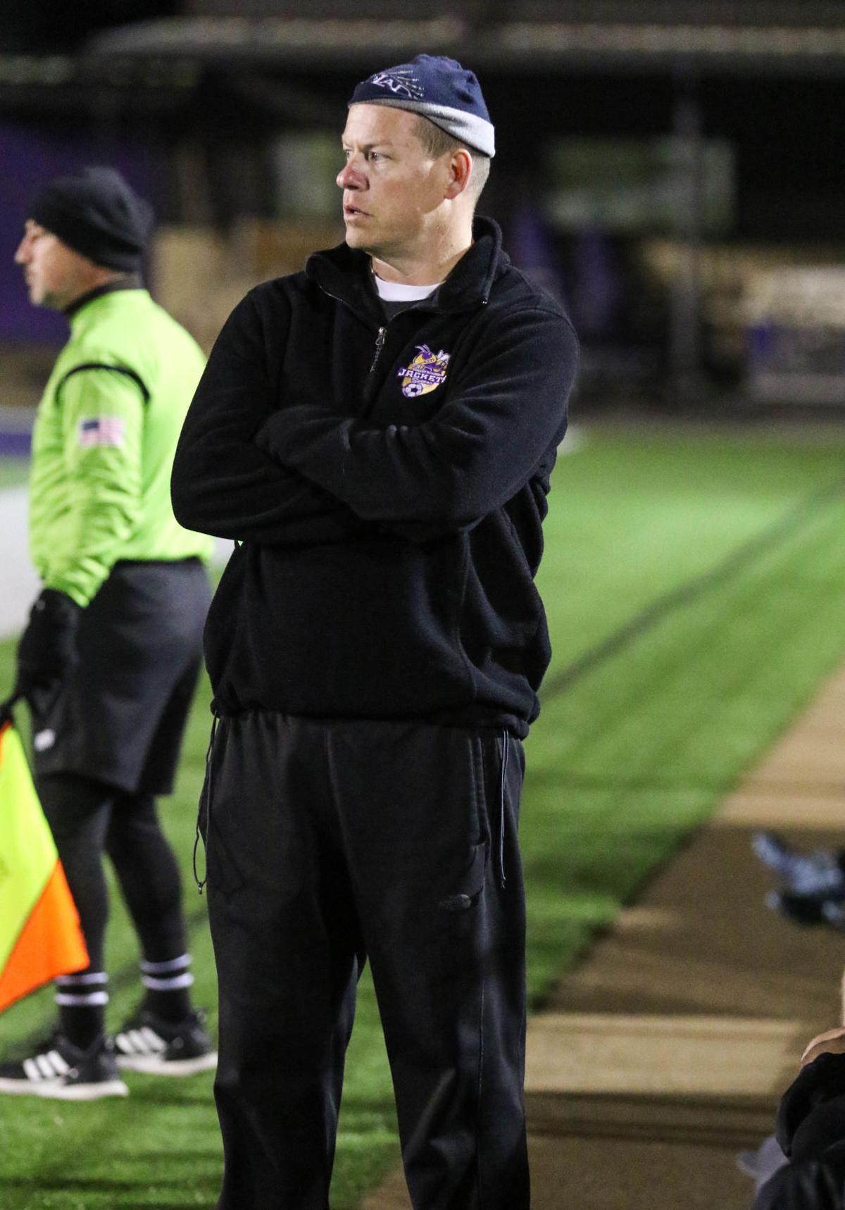 Denham Springs soccer coach Chris Thorne