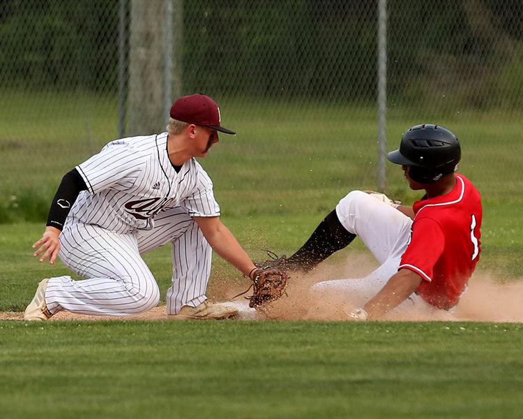 Albany vs Loranger Baseball Brock Bankston BJ Jackson.