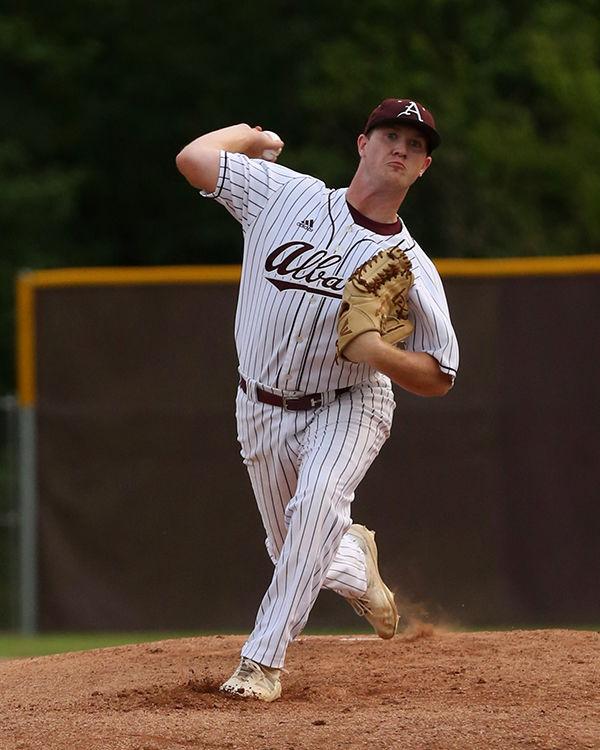 Albany vs Loranger Baseball Donovan Giamalva