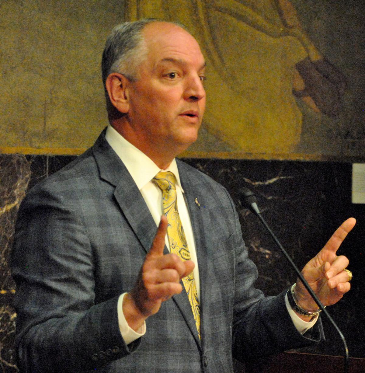 Gov. John Bel Edwards