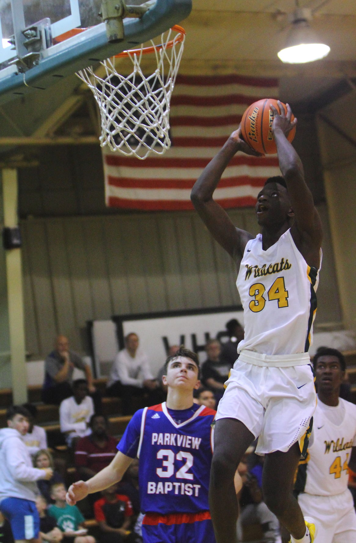 Walker \u0026 Parkview Basketball Brian Thomas