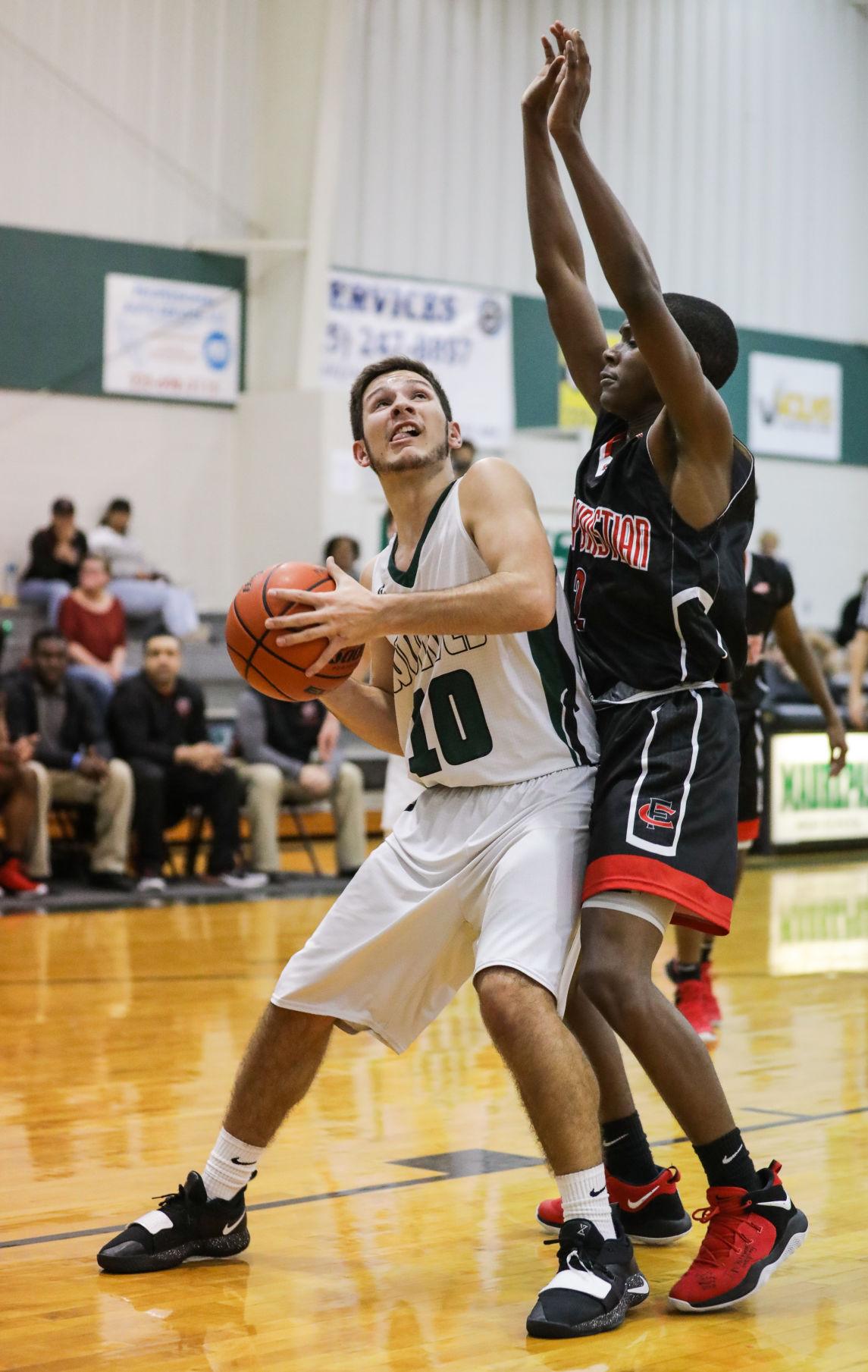 Family Christian at Maurepas boys basketball Landon Loupe Cameron Young