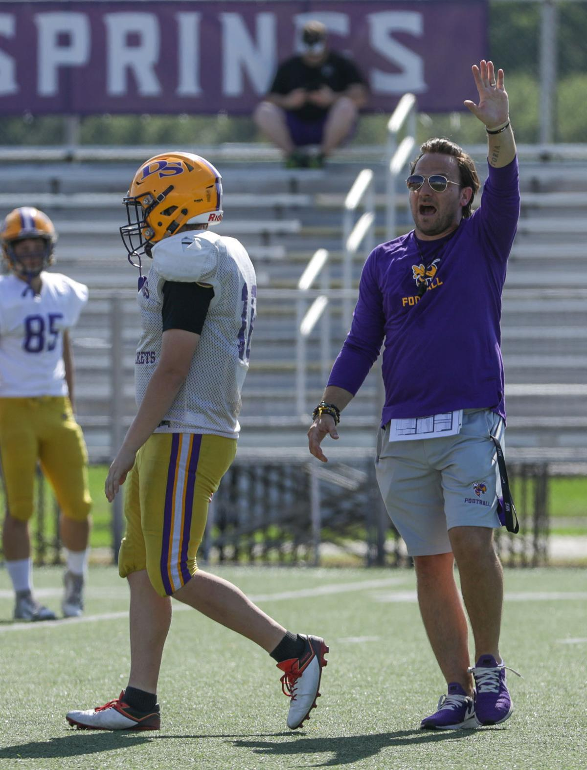 Denham Springs spring football Bill Conides