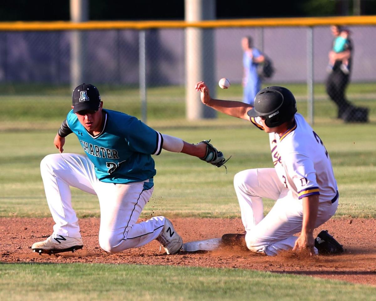 Doyle baseball vs. Avoyelles Public Charter Hunter Mizell