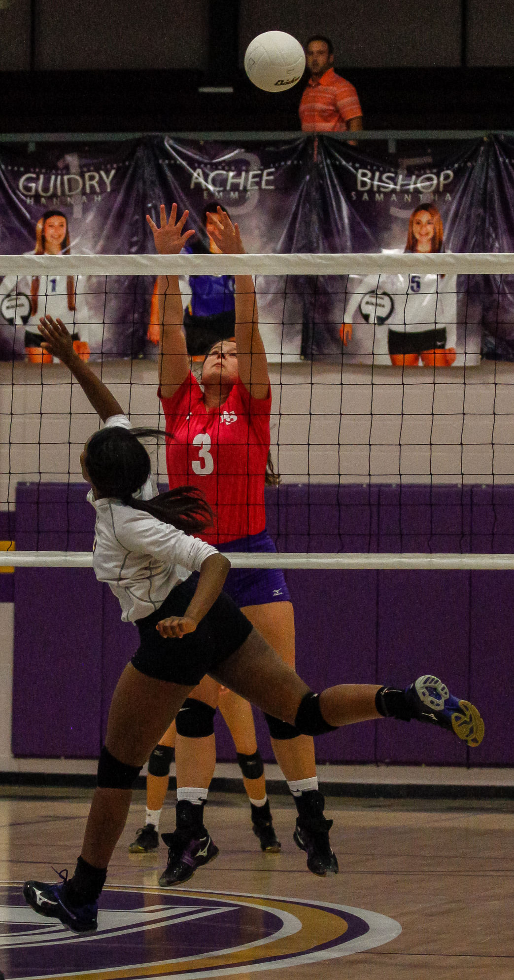 East Ascension at Denham Springs volleyball Achee Thomas