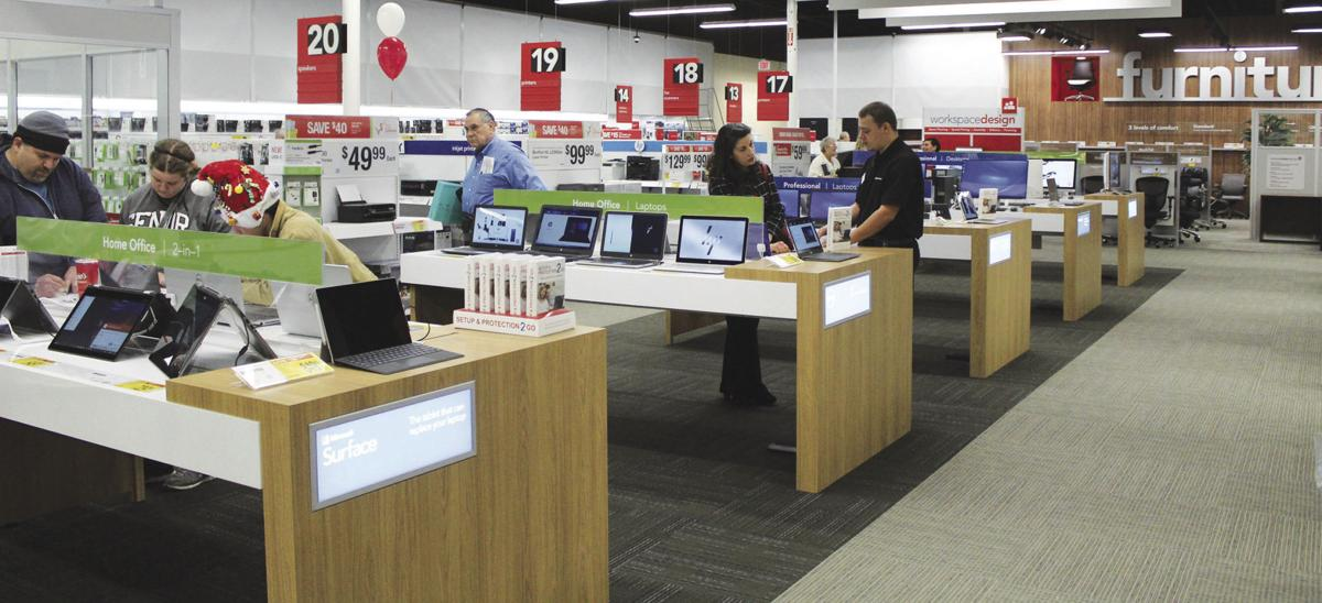Office Depot ReOpens With Store Of The Future Format  News