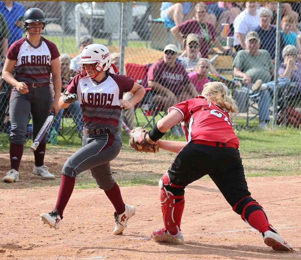 Port Barre-Albany softball Annalea Giamalva