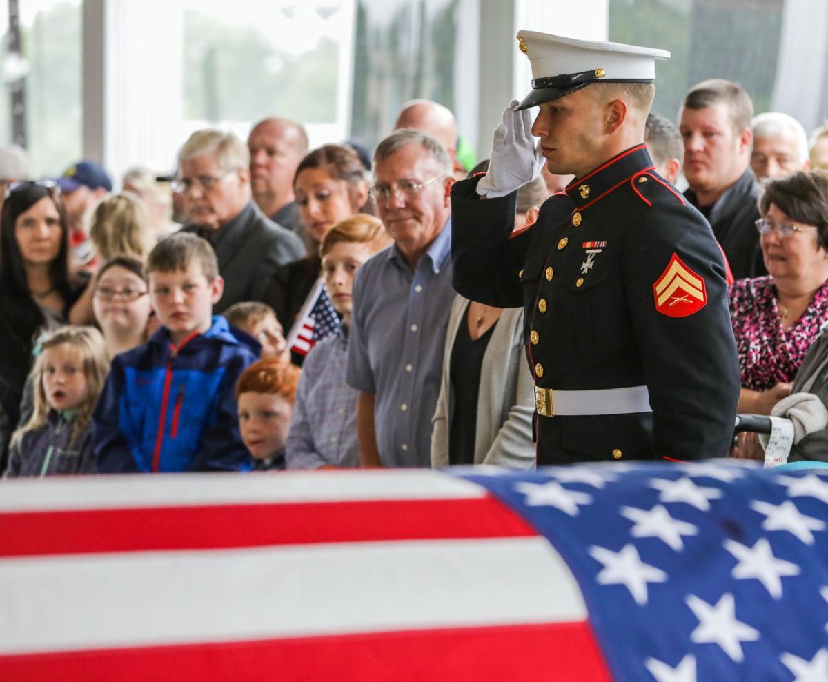Fallen U.S. Marine comes home
