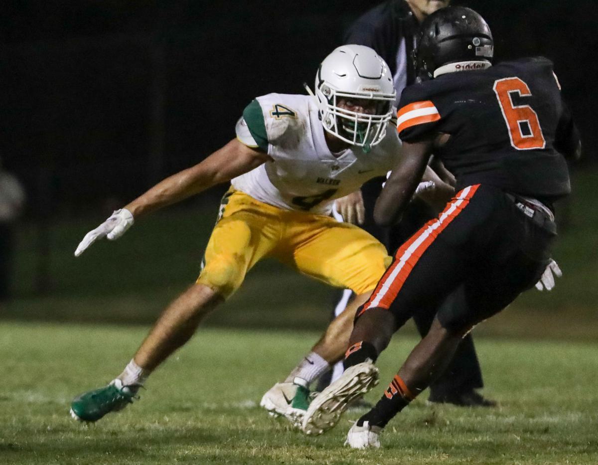 Walker vs. Catholic High football jamboree Aubrey Womack