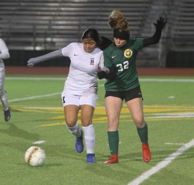 Walker girls soccer vs. Brusly: Faith Walton