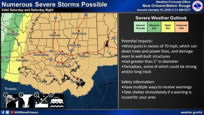 Enahnced Risk of Severe Weather