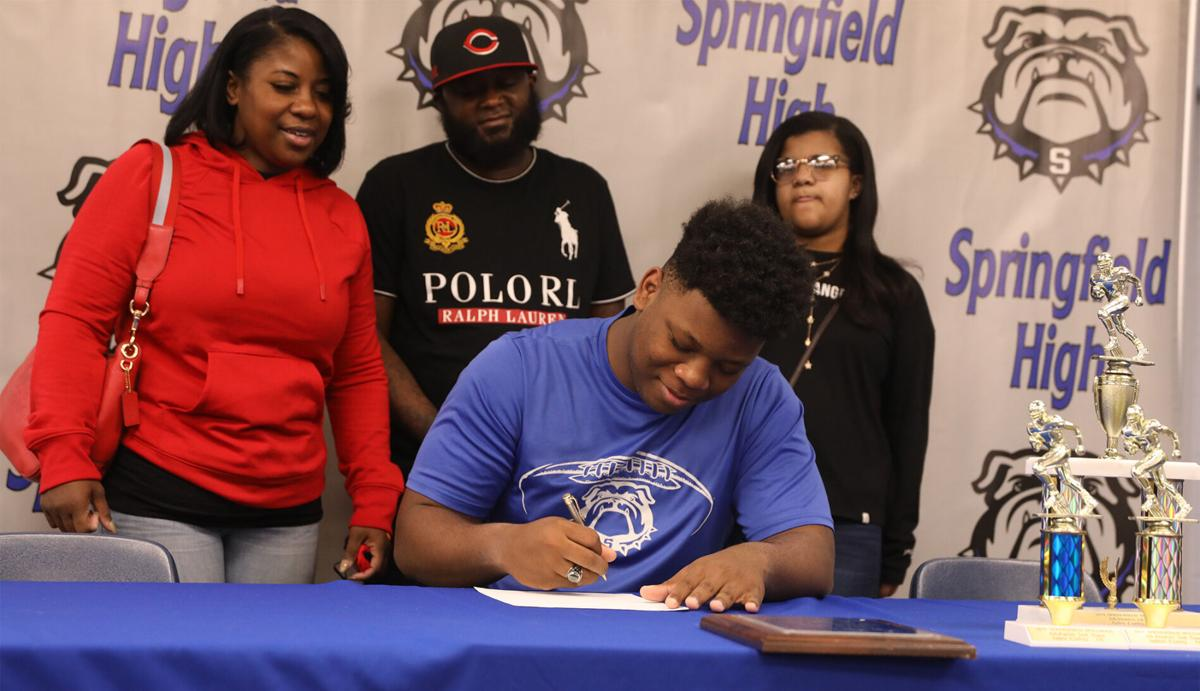 Springfield High players sign with Louisiana College