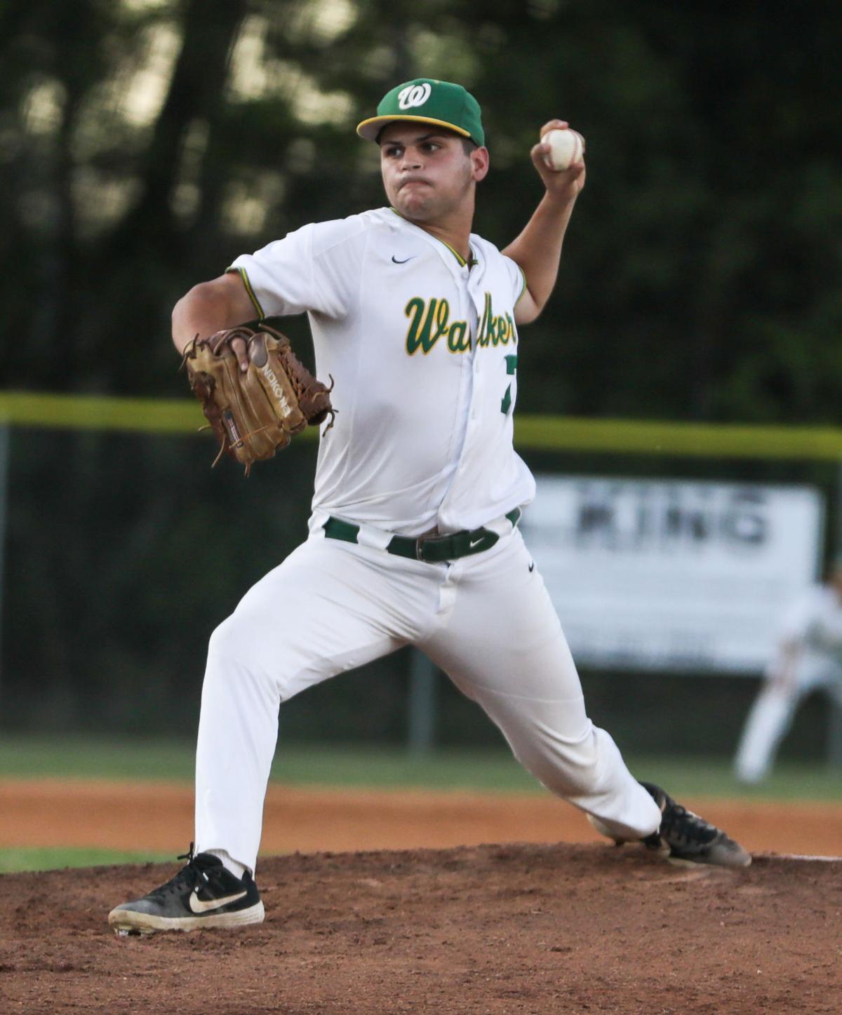 Zachary at Walker baseball Christian Cassels