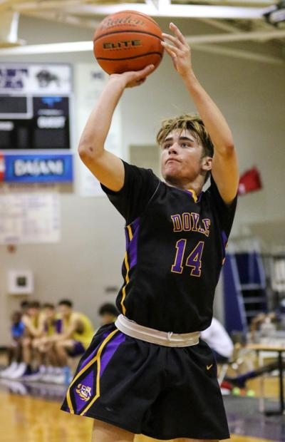 Denham Springs vs. Doyle summer basketball: Logan Turner