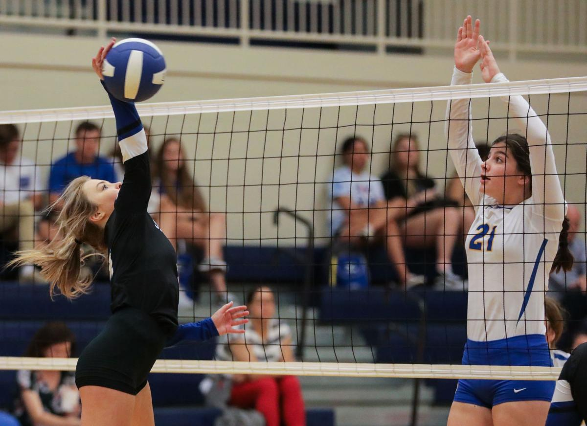 Live Oak vs. Springfield volleyball scrimmage: Rylee Parnall