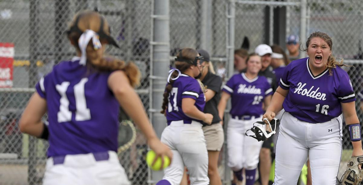 Florien vs. Holden High softball semifinal Taylor Douglas