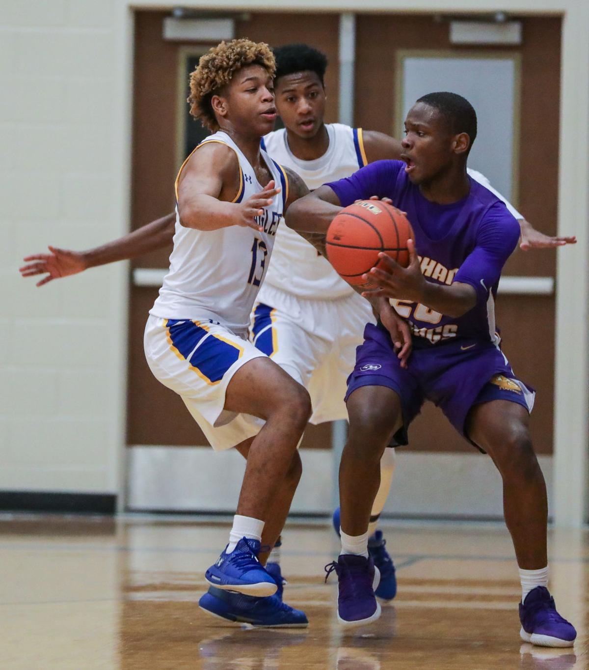 DSHS at Live Oak boys basketball D.J. Williams Lawrence Pierre