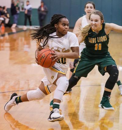 French Settlement vs Walker girls basketball Asia Garner Dannah Martin
