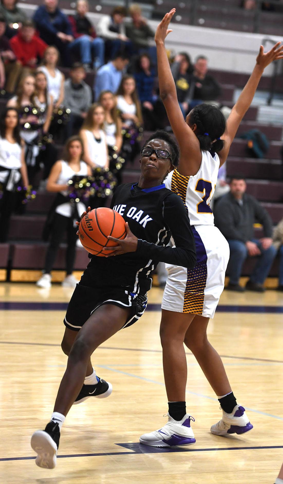 Denham Springs girls basketball vs. Live Oak: LOHS Harmony Johnson