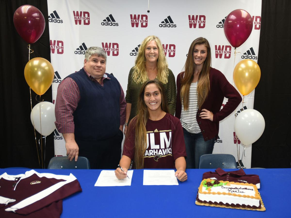 Karlee Wilkerson signs with Louisiana-Monroe