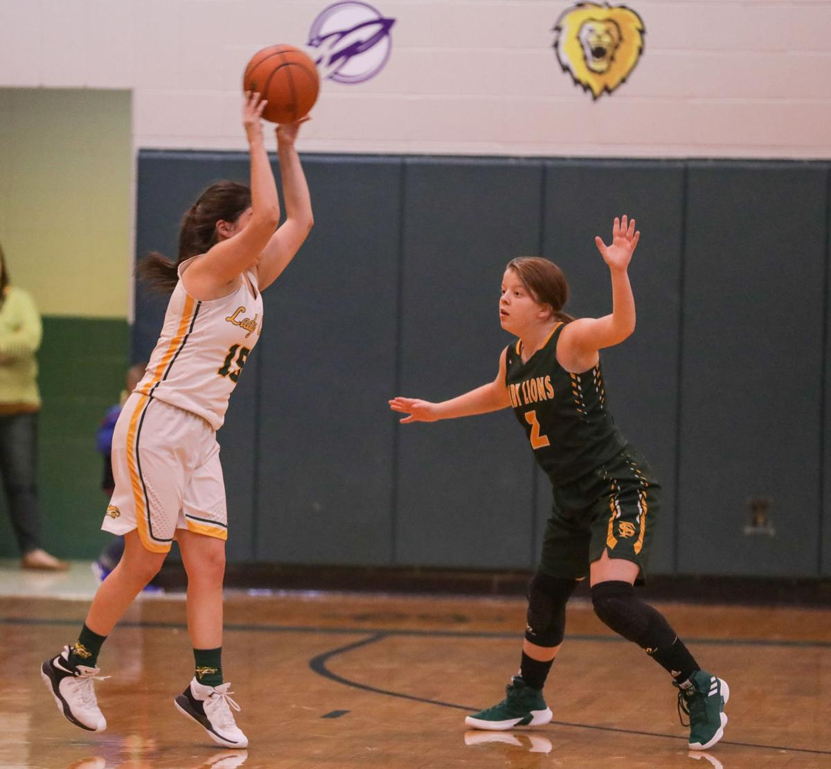 French Settlement vs Walker girls basketball Cailey Smith Mekayla Rothman