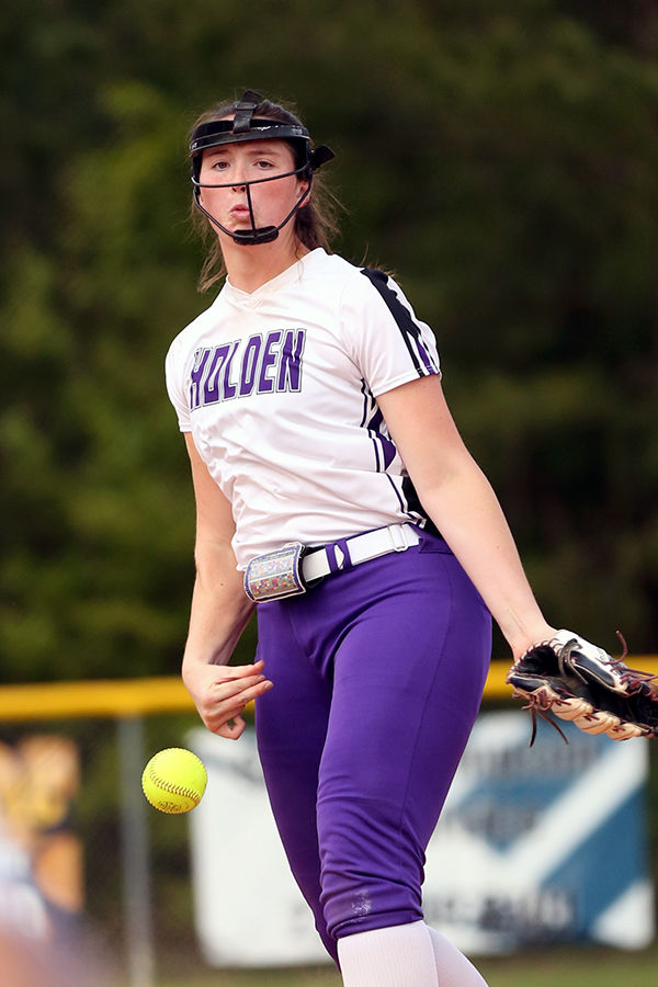 Holden softball vs North Vermilion: Olivia Lackie