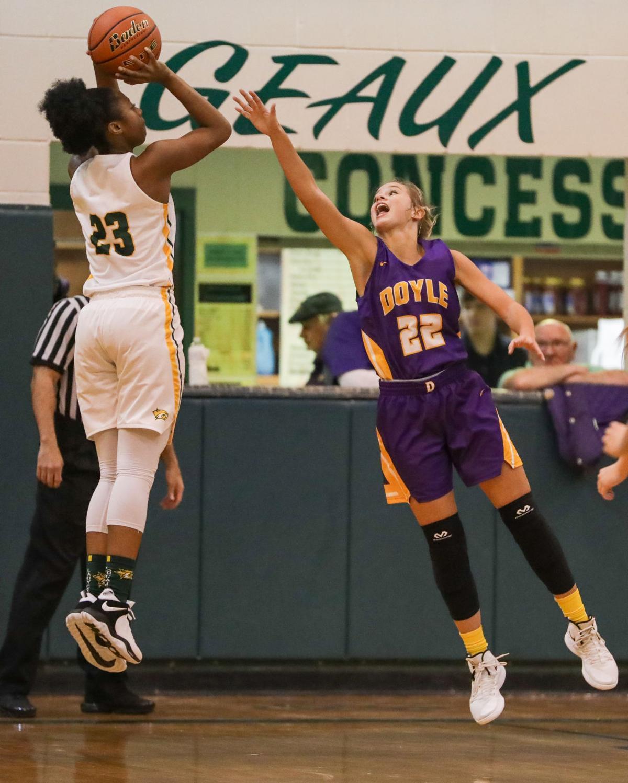 Doyle vs Walker girls basketball Meghan Watson Tiara Young