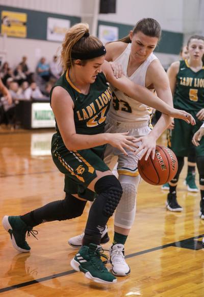 French Settlement vs Walker girls basketball Candance Ellis Serenity Smith