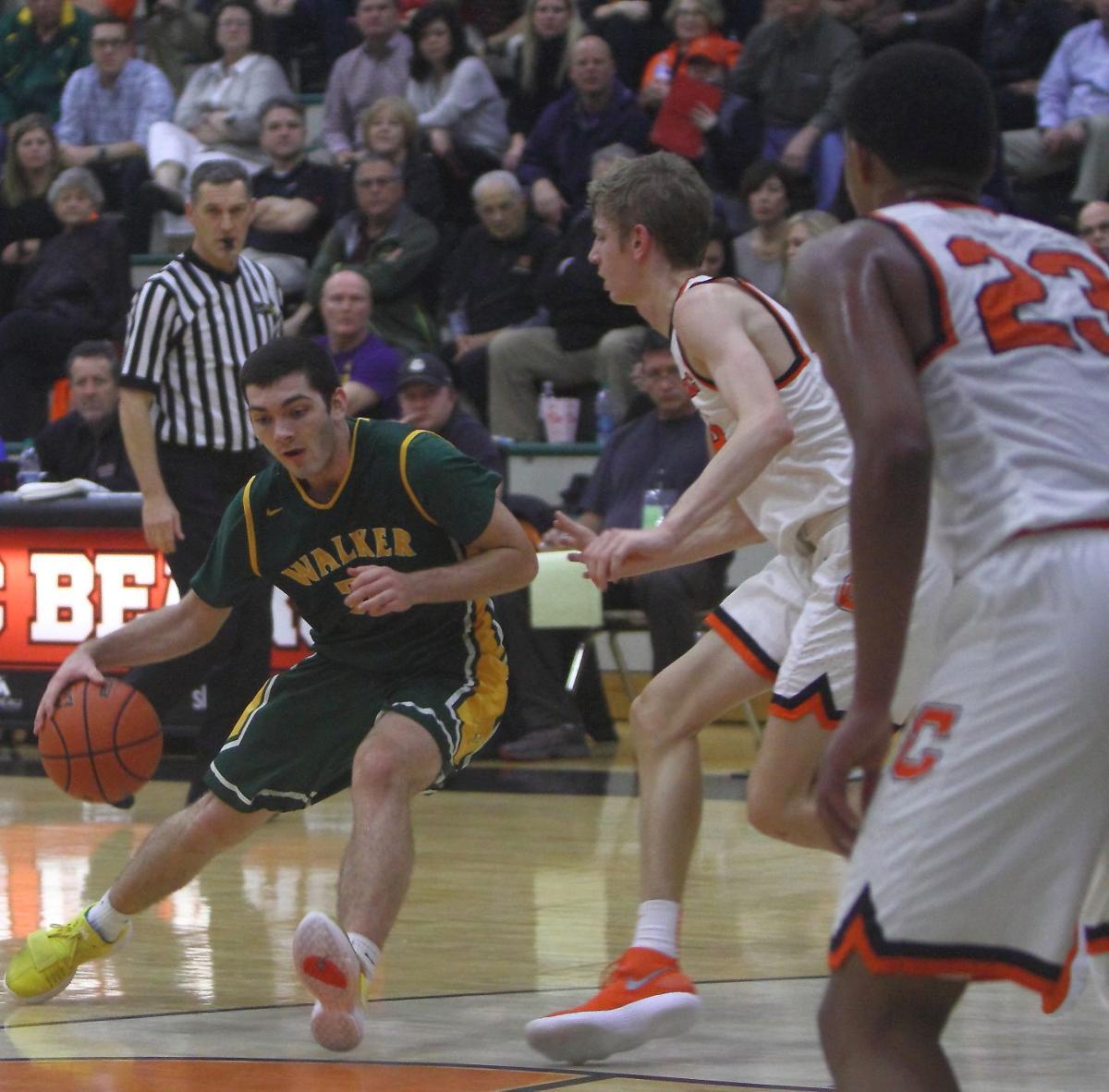Walker & Catholic boys basketball Dalton Moore