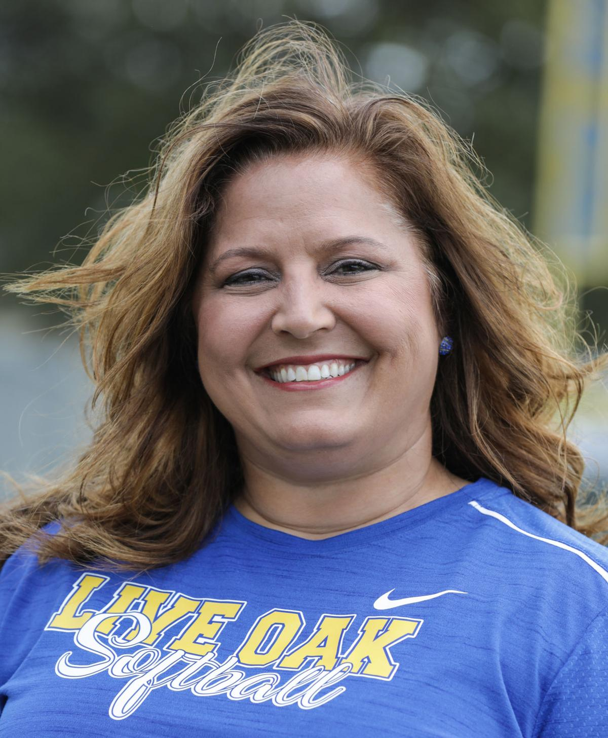 Live Oak softball Michelle Morris