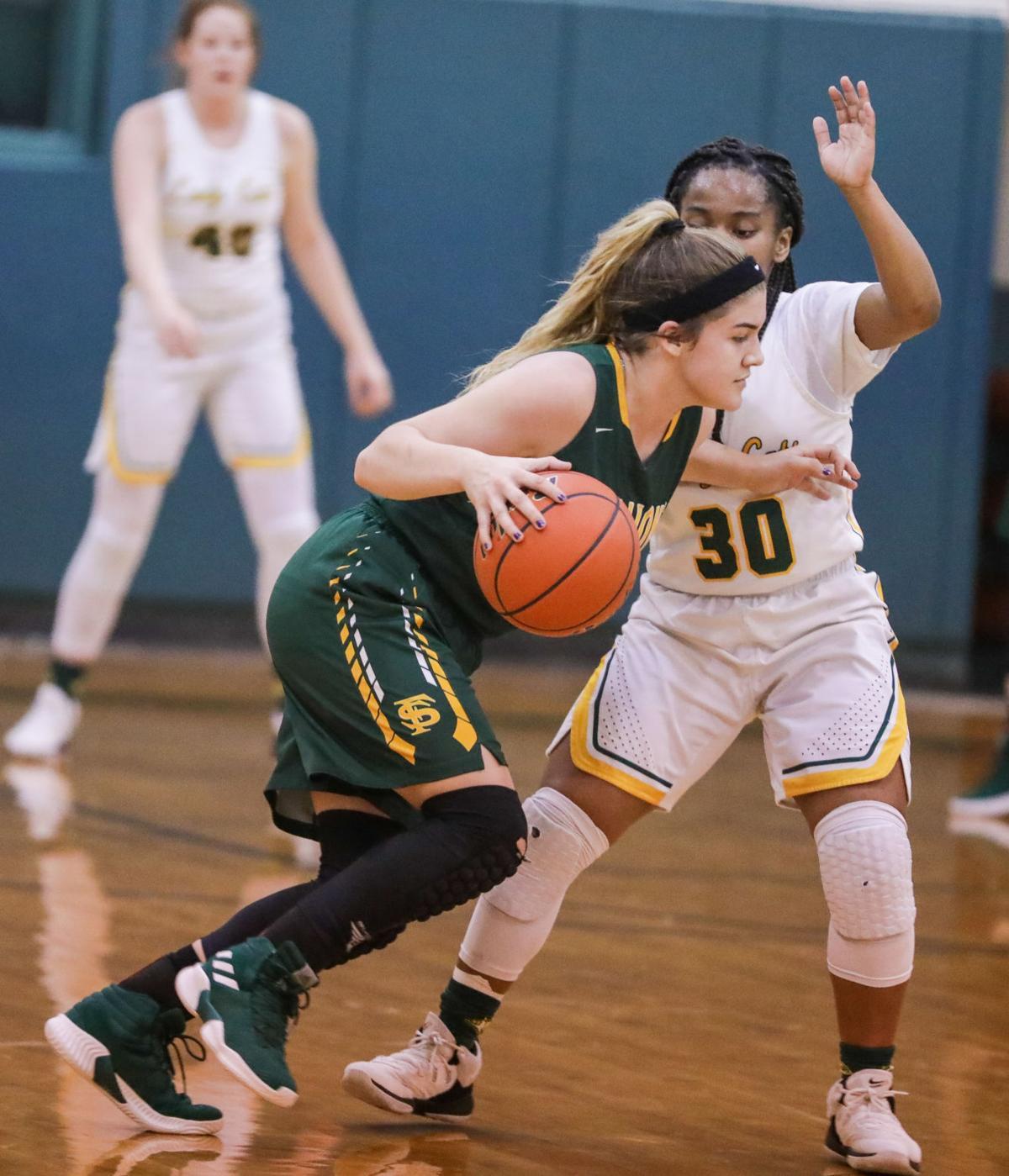 French Settlement vs Walker girls basketball Serenity Smith Asia Garner
