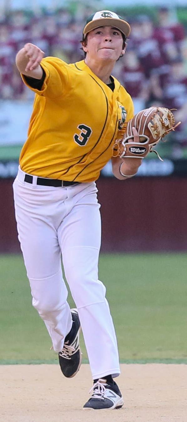FSHS-STA baseball Brice Fruge