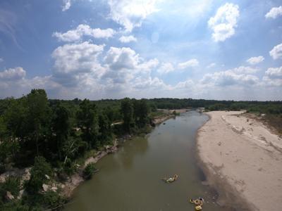 Amite River high shot