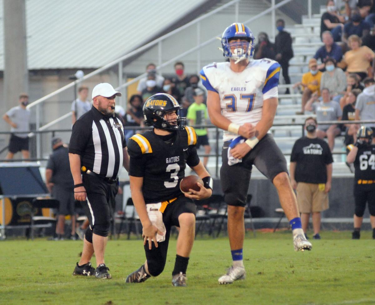 LIve Oak-St. Amant football Luke Ydarraga